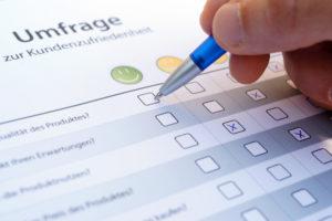 Optimieren der Marketingstrategie durch Kundenumfragen