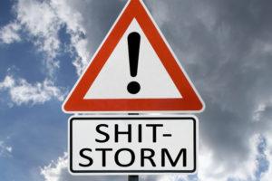 Content Marketing: So gehen Sie mit einem Shitstorm richtig um