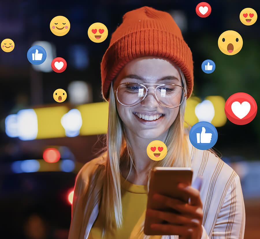 Social Media Marketing begeistert die Zielgruppe